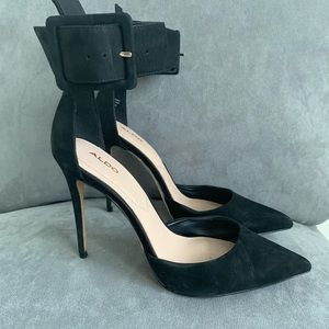 Aldo 8.5 black heels